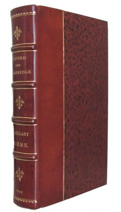 Oxford and Cambridge Miscellany Poems. Elijah Fenton, ed.