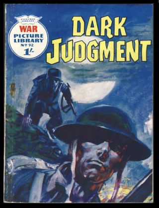 War Picture Library No. 92 - Dark Judgment. Donne Avenell, Hugo Pratt.