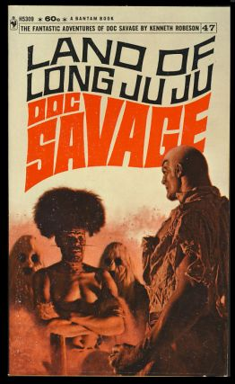 Land of Long Juju - A Doc Savage Adventure. Kenneth Robeson, Laurence Donovan