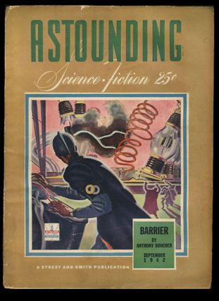 Astounding Science Fiction September 1942. John W. Campbell, ed, Jr