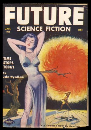 Time Stops Today in Future Science Fiction January 1953. John Wyndham