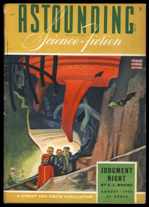Astounding Science-Fiction August 1943. John W. Campbell, ed, Jr