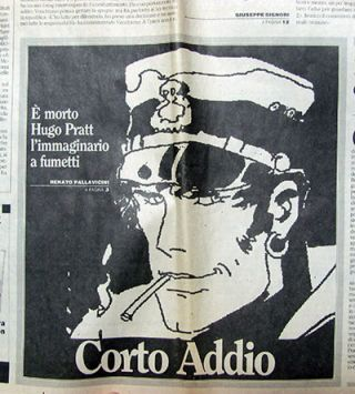 L'Unità 2, 21 Agosto 1995. (Long article commemorating the artist at the time of his death)....