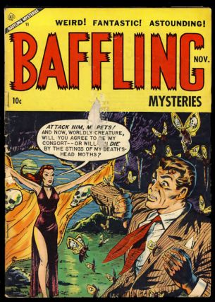 Baffling Mysteries #18. Authors