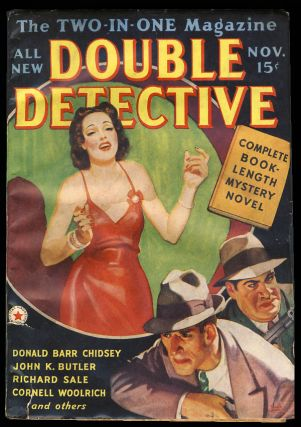 Double Detective November 1938. Cornell Woolrich
