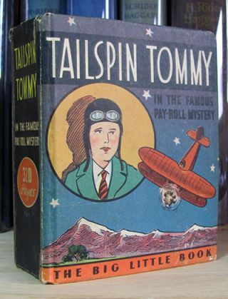 Tailspin Tommy in The Famous Pay-Roll Mystery. Hal Forrest