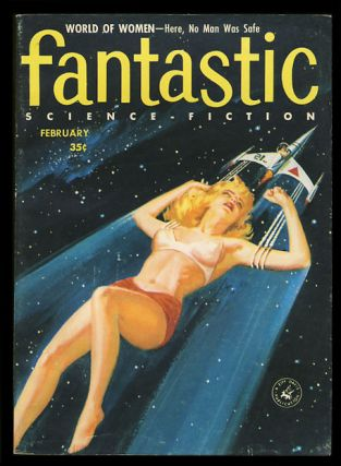 Fantastic February 1957. Paul W. Fairman, ed