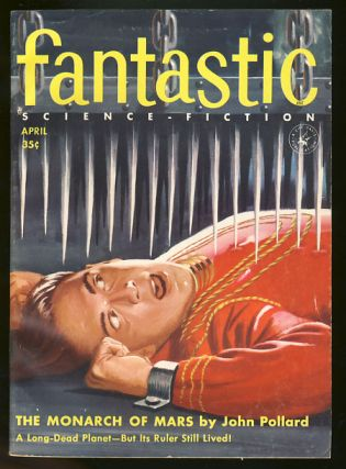 Fantastic April 1956. Howard Browne, ed