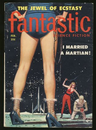 Fantastic February 1958. Paul W. Fairman, ed
