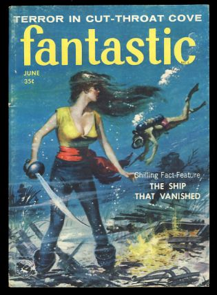 Fantastic June 1958. Paul W. Fairman, ed