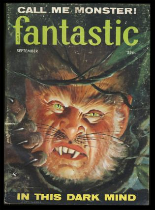 Fantastic September 1958. Paul W. Fairman, ed