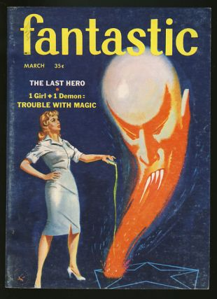 Fantastic March 1959. Cele Goldsmith, ed