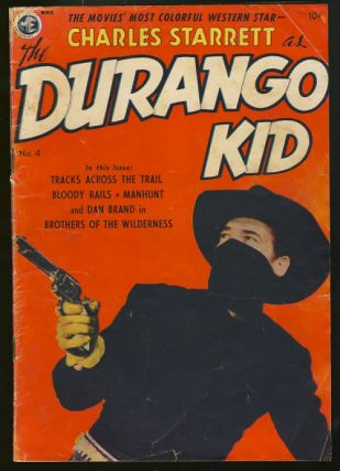 The Durango Kid #4. Frank Frazetta.