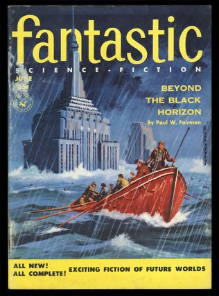 Fantastic June 1955. Howard Browne, ed