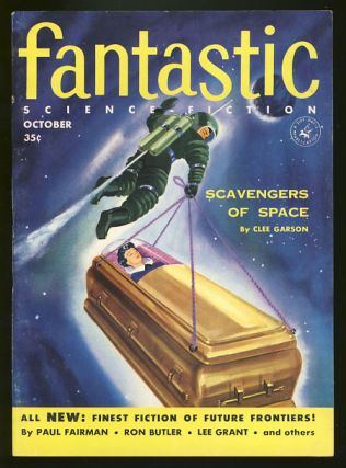 Fantastic October 1955. Howard Browne, ed