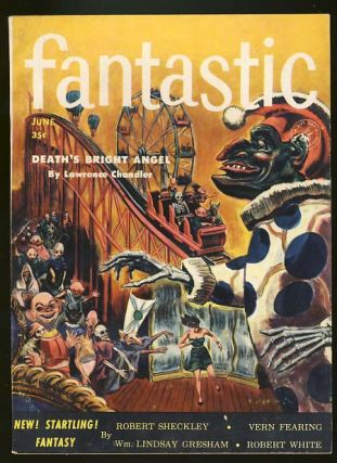 Fantastic June 1954. Howard Browne, ed