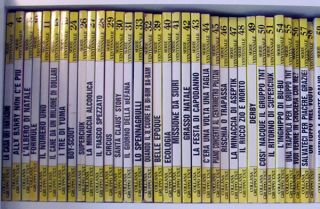 Alan Ford Serie Ventennale Seventy-four Issue Run.