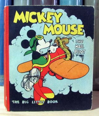 Mickey Mouse the Mail Pilot. Floyd Gottfredson