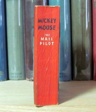 Mickey Mouse the Mail Pilot.