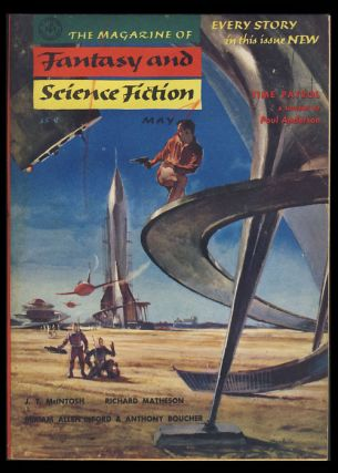Time Patrol in The Magazine of Fantasy and Science Fiction May 1955. Poul Anderson