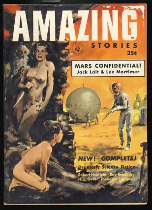 Project Nightmare in Amazing Stories April-May 1953. Robert A. Heinlein