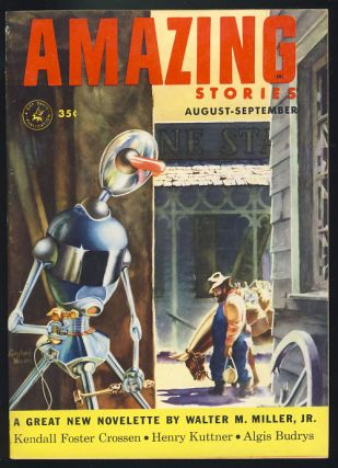 The Commuter in Amazing Stories August-September 1953. Philip K. Dick