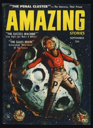 Amazing Stories September 1957. Paul W. Fairman, ed