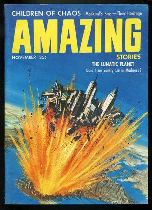 Amazing Stories November 1957. Paul W. Fairman, ed