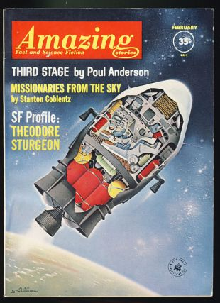 Amazing Stories February 1962. Cele Goldsmith, ed
