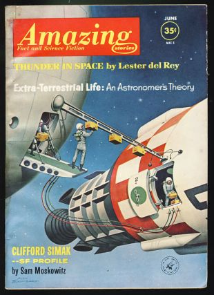 Amazing Stories June 1962. Cele Goldsmith, ed