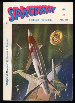 Spaceway February 1954. William L. Crawford, ed