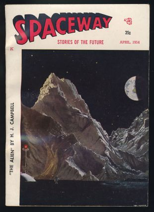 Spaceway April 1954. William L. Crawford, ed