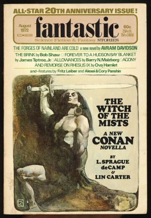 The Witch of the Mists in Fantastic August 1972. L. Sprague de Camp, Lin Carter