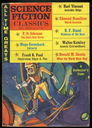 Science Fiction Classics Winter 1967. Ralph Adris, ed.