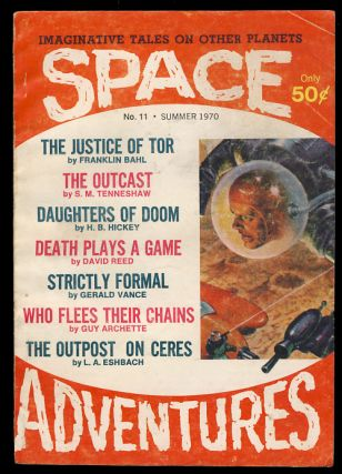 Space Adventures Summer 1970. Sol Cohen, ed.