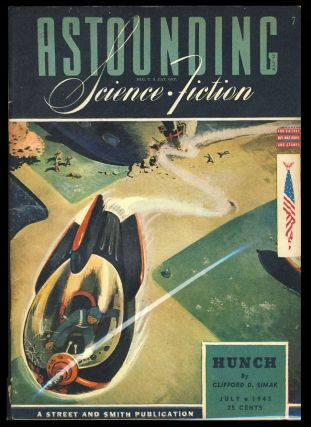 Hunch in Astounding Science Fiction July 1943. Clifford D. Simak