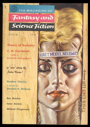 The Magazine of Fantasy and Science Fiction July 1958. Anthony Boucher, ed