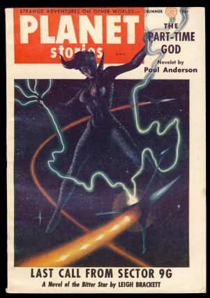 Last Call from Sector 9G in Planet Stories Summer 1955. Leigh Brackett