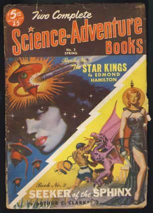 The Star Kings / Seeker of the Sphinx in Two Complete Science-Adventure Books Spring 1951. Edmond...