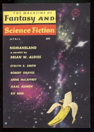 Nomansland in The Magazine of Fantasy and Science Fiction April 1961. Brian W. Aldiss.