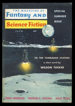 The Magazine of Fantasy and Science Fiction July 1960. Robert P. Mills, ed