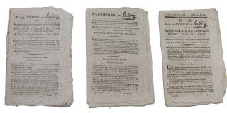 An Interesting Small Archive of French Revolutionary Era Newspapers
