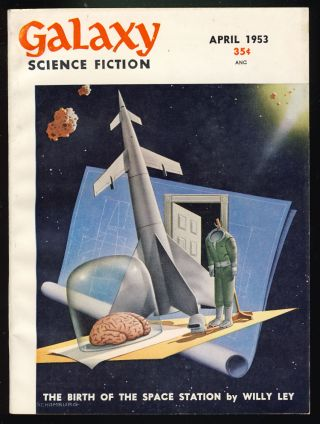 Seventh Victim in Galaxy Science Fiction April 1953. Robert Sheckley