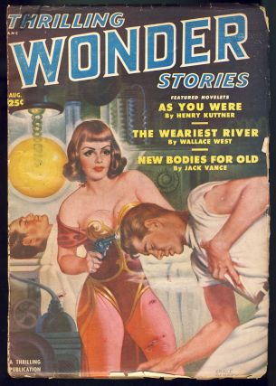 New Bodies for Old in Thrilling Wonder Stories August 1950. Jack Vance.