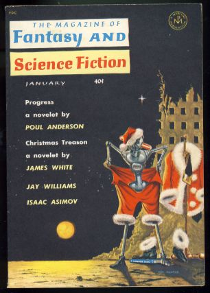 The Magazine of Fantasy and Science Fiction January 1962. Robert P. Mills, ed
