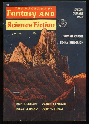 The Magazine of Fantasy and Science Fiction July 1962. Robert P. Mills, ed