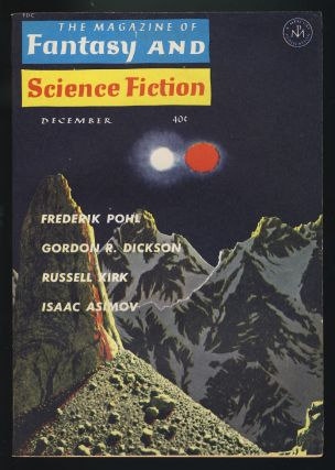 The Magazine of Fantasy and Science Fiction December 1962. Robert P. Mills, ed.