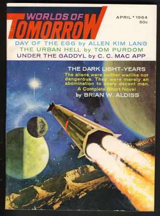 The Dark Light-Years in Worlds of Tomorrow April 1964. Brian W. Aldiss.