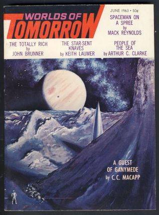 Worlds of Tomorrow June 1963. Frederik Pohl, ed.
