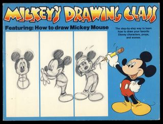 Mickey's Drawing Class. Lee J. Ames.